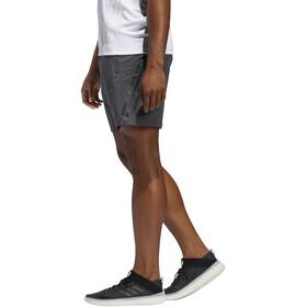 "adidas Aeroready 3 Stripes Shorts 8"" Men, zwart/grijs"